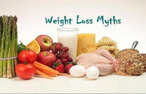 false weight loss myths