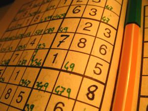 brain game - sudoku